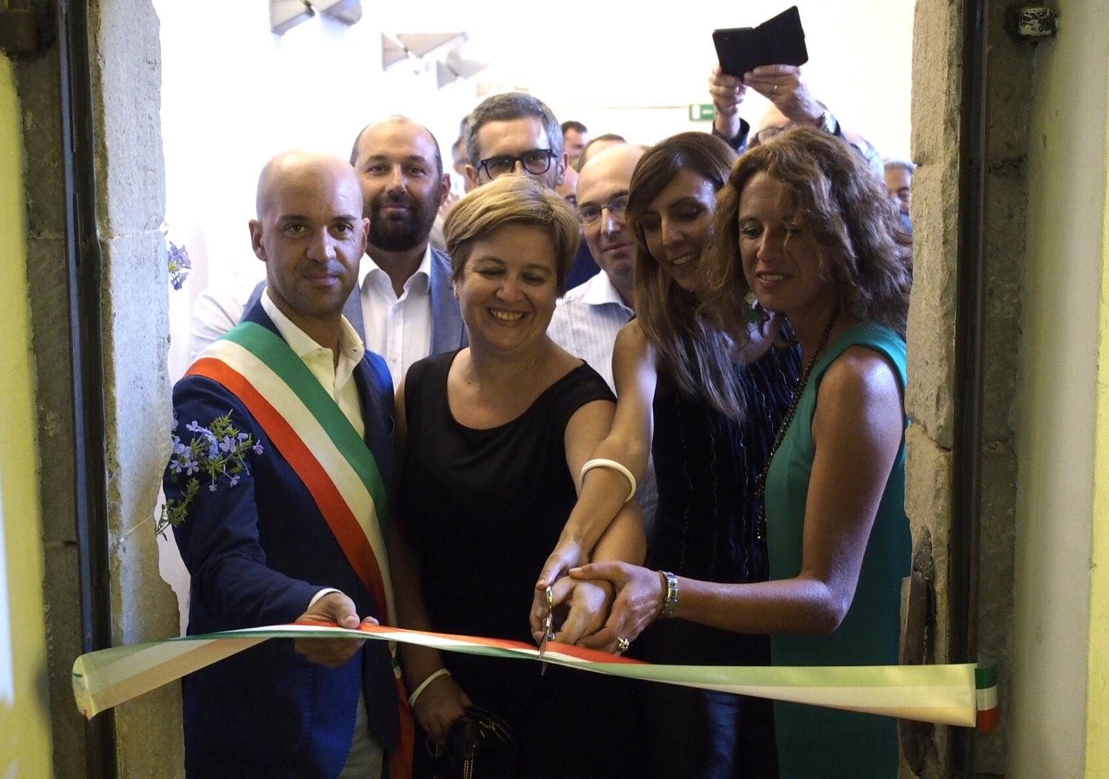 Sarzana - Inaugurazione MUdeF