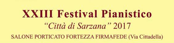XXIII Festival pianistico 2017