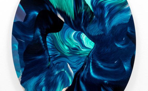 x banner Hd-Paolo-Treni-Deep Blue, 2016, laser, smalti e vernici su plexiglas, 90x70 cm. AP1_5923 -